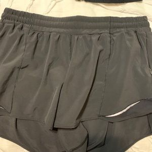 Lululemon hotty hot shorts 4inch inseam